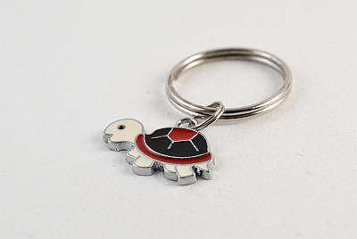 Keyring Black, Red and White