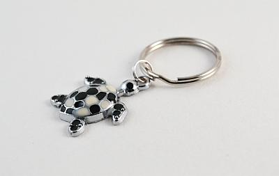 Keyring Black and White
